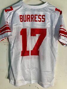 Reebok Women's NFL Jersey New York Giants Plaxico Burress White sz XL