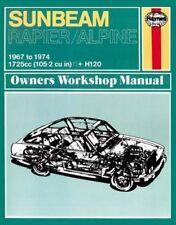 Sunbeam Alpine and Rapier Owner's Workshop Manual by Haynes Publishing Group...
