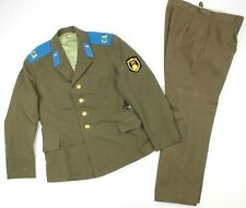 GENUINE RUSSIAN ARMY / AIR FORCE UNIFORM USED JACKET & TROUSERS (NO3)