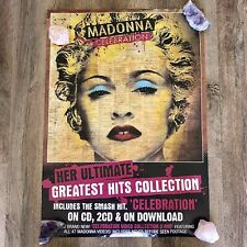 MADONNA CELEBRATION POSTER! Rare Promo Limited NOT litho SEX Madame X Tour DVD
