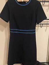 Draper James Short Sleeves Navy Color Dress Size S