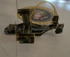 MARINE HELICOPTER SQUAD ONE~HMX-1~2016 WHITE HOUSE CHRISTMAS ORNAMENT~GIFT BOXED