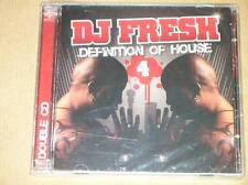 BOITIER 2 CD RARE / DJ FRESH / DEFINITION OF HOUSE VOL 4 / NEUF SOUS CELLO