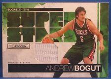 2010-11 ROOKIE & STARS ANDREW BOGUT MATERIALS #54/100