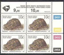South Africa (RSA) 1993 Tortoise/Animals/Nature/Wildlife/Tortoises c/b (za10084)