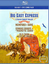 New Big Easy Express Combo Pack (Blu-ray/DVD, 2012, 2-Disc Set)
