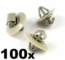 100x Clips for Renault Trafic Traffic Side Moulding / Lower Protection Door Trim