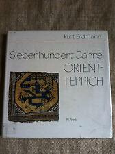 Siebenhundert Jahre Orientteppich by Kurt Erdmann.  Oriental Rugs