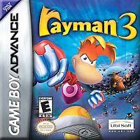 Rayman 3, (GB Advance)