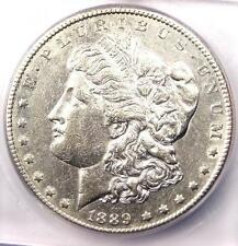 1889-CC Morgan Silver Dollar $1 - ICG AU58 Details - Rare Carson City Coin in AU