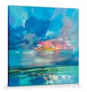 SCOTT NAISMITH canvas wall art - ready framed - Arran Blue 85 x 85 x 4 cm