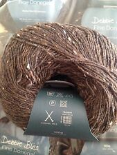 Debbie Bliss Fine Donegal shade 22 Chocolate