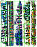 6059 DAVE'S DECALS BOXCAR URBAN WALL GRAFFITI HO SCALE 1:87