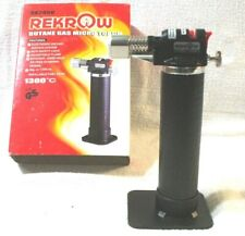 Rekrow RK2050 Butane Gas Micro Torch Welding Brazing Soldering Jewelry Repair