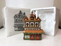 """Vintage Dept. 56 """"Theatre Royal"""" #5584-0 Porcelain Heritage Village Dickens"""