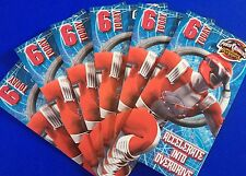 Bundle / Pack Of 6 Happy Birthday Cards, Boys, Age 6, Power Rangers