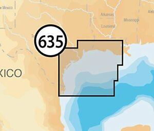 Navionics Platinum+ SD 635 West Gulf of Mexico Nautical Chart on SD/Micro-SD ...