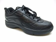 Easy Spirit Black Leather Sneakers Shoes 5.5M 5.5 NEW MSRP $89.