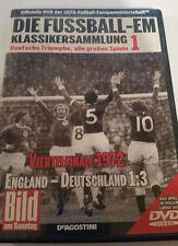 Die Fußball -EM DVD +++ Klassikersammlung 1 +++ Viertelfinale 1972 ENG- DE 1:3