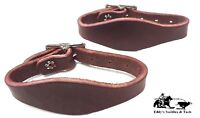 Stirrup Hobbles Latigo Leather Pair Amish Made New Free Ship