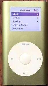 Apple iPod Mini 1st Generation Green (4 GB)
