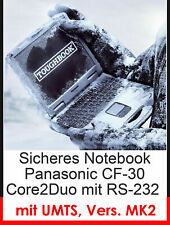 Panasonic Cf-30 Mk2 Outdoor Notebook Touch Screen Rs232 Umts 2gb Ddr2 160gb HDD