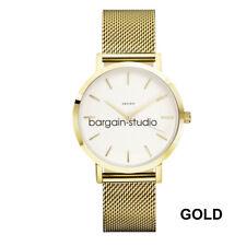 New Women Ladies Fashion Stainless Steel Strap Watches Analog Quartz Wrist Watch