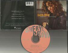 SHERYL CROW Strong Enough w/ 3 RARE LIVE TRX Leaving/ Reach / All USA CD single