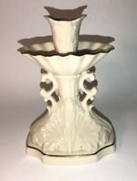 Vintage Lenox Millennium Collection Ceramic Fountain Style Candle Stick Holder