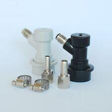 Ball Lock Becker Homebrew Keg Tap MFL Coupler Set - World Free Shipping