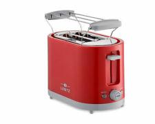 LENTZ 2-Scheiben Toaster rot COOL TOUCH Toastautomat Brötchenaufsatz