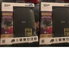4TB Silicon Power Armor A60 Shockproof Rugged Portable Hard Drive USB 3.1 XBOX