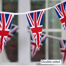 2 X 33ft Union Jack Triangle 20 Flag Bunting Royal Wedding Party Decorations