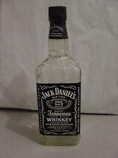 JACK DANIEL Gold metal BLACK LABEL 1.75 Liter Empty Bottle