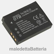 EN-EL12 Batteria Alta Qualità per Nikon Coolpix S6300 S640 S70 S710 S8000 (LA4)