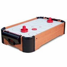 MINI TABLE-TOP AIR HOCKEY GAME PUSHERS CHILDREN's KIDS FAMILY FUN XMAS
