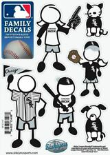 Chicago White Sox Family Decals Set of 6