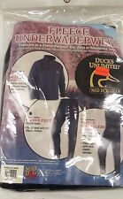 New Mad Dog Gear, Duck's Unlimited Fleece Under Wader Wear Pant, Black, 3XL