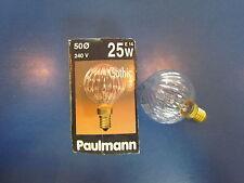 RAREZA - PAULMANN Gótico Lámpara de globo 240 V E14 25 W G50 Art.Nº: 115.21