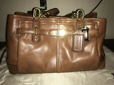 Authentic Coach Chelsea Jayden Carryall F17811 Cognac