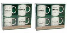 Starbucks Coffee Company Stackable Ceramic Coffee Mugs, 8 Pack, 404ml, 14oz