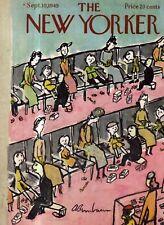 1949 New Yorker September 10 New shoes for school at Filene's Basement -Birnbaum
