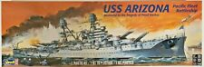 Revell Uss Arizona Battleship Plastic Model Kit #850302 1:426 Scale