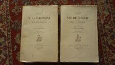 STENDHAL - ed. Honoré CHAMPION - Vie de Rossini,  2 vol. N° sur velin, 1923