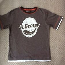 BOYS ST GEORGE DUFFER T SHIRT/TOP AGE 7-8