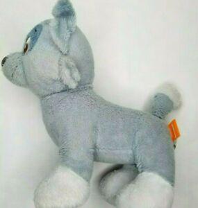 Build A Bear Rocky Paw Patrol Plush Puppy Dog Gray Soft Toy Stuffed Animal 2016