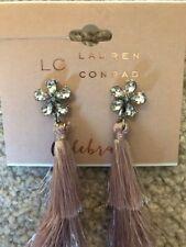 "LC Lauren Conrad ""Celebrate"" Rhinestone Dangle Earrings"