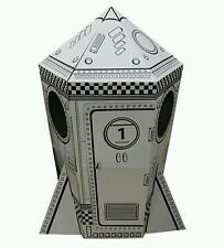 Maison Décoration chambre Enfants Rocket Space Ufo déco en carton Neuve .Créatif