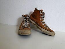 Converse All Star Chucks Sneaker Turnschuhe High Taylor Leder Hellbraun Gr. 4,5