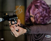 Laura Dern Signed 8x10 Photo Star Wars - Autographed Beckett BAS COA